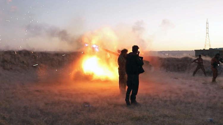 عاجل : البيشمركة تقصف القوات العراقية في كركوك بالهاون