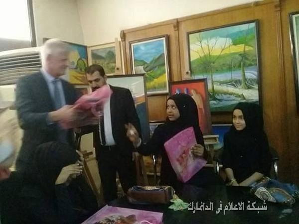 وزارة الثقافة تحتضن أطفال شهداء الحشد والجيش العراقي