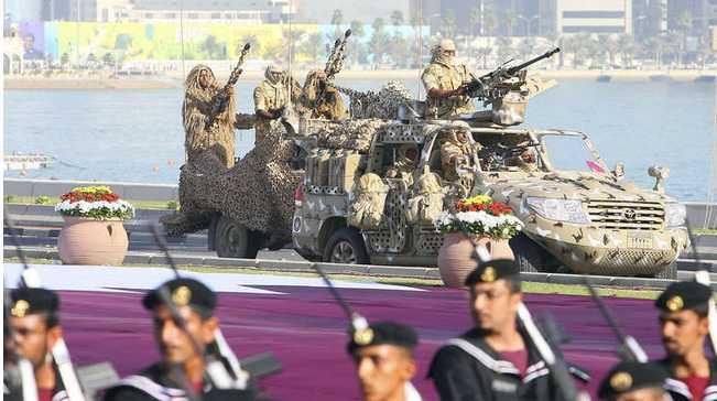 """قطر تعلن أنها """"مستعدة جيدا"""" لمواجهة تحرك عسكري محتمل من قبل دول المقاطعة"""