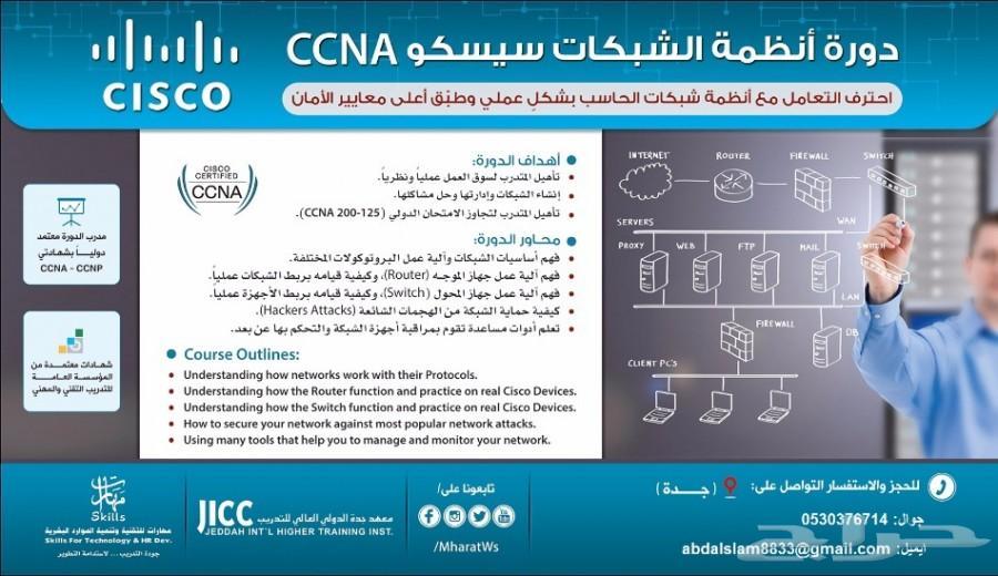 احترف التعامل أنظمة شبكات ccna