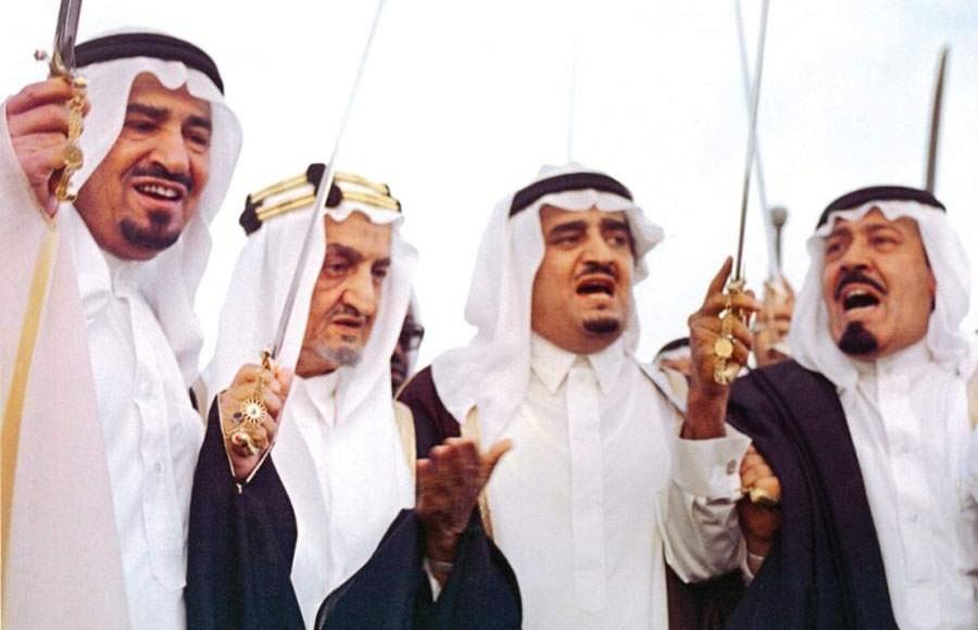رد: صور نادرة لملوك وأمراء السعودية ومعلومة عن معاهدة العقير بين السعودية والعراق وال