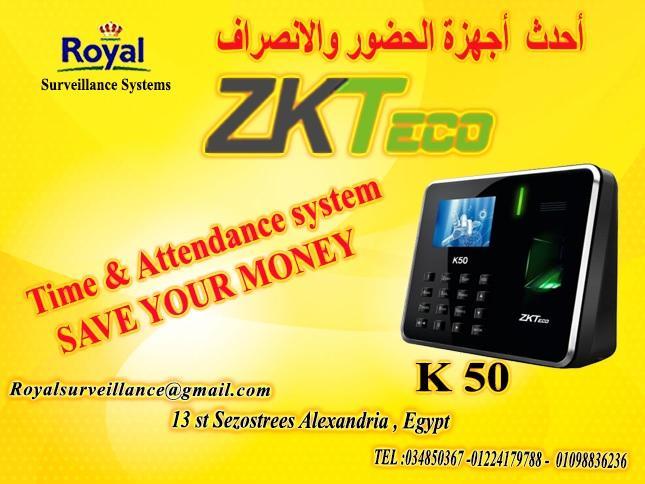 انظمة حضور وانصراف ماركة ZK Teco  موديل K50 381358904
