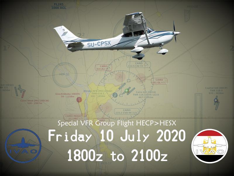 [EG] Special VFR Group Flight